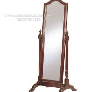Frame Cermin Hias Tinggi Jati