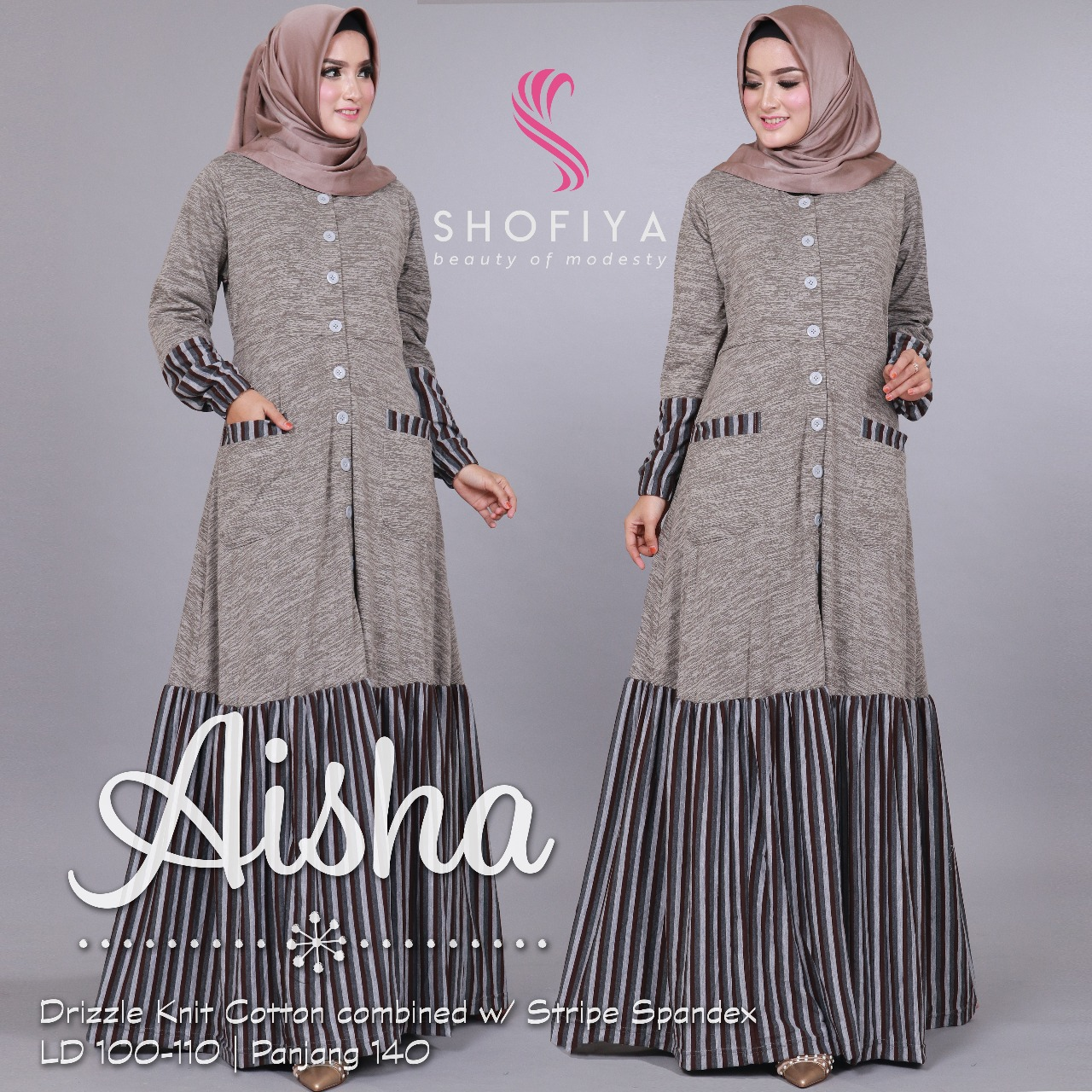 Model Baju Gamis Fashion Muslim