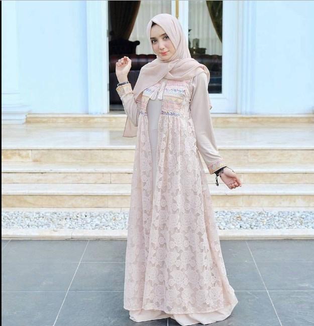 Gamis Untuk Santriwati Gambar Islami