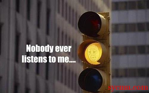 No one ever follows the yellow light