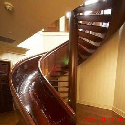 Slide instead of stairs