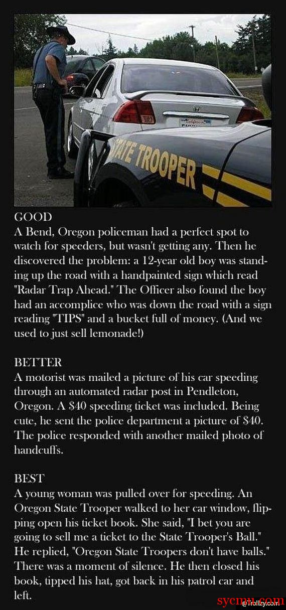 The Tales of the Oregon Police