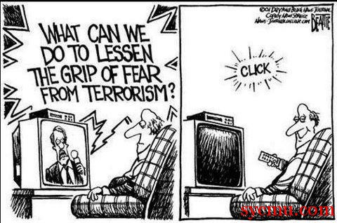 What can we do to fight the fear of terrorism