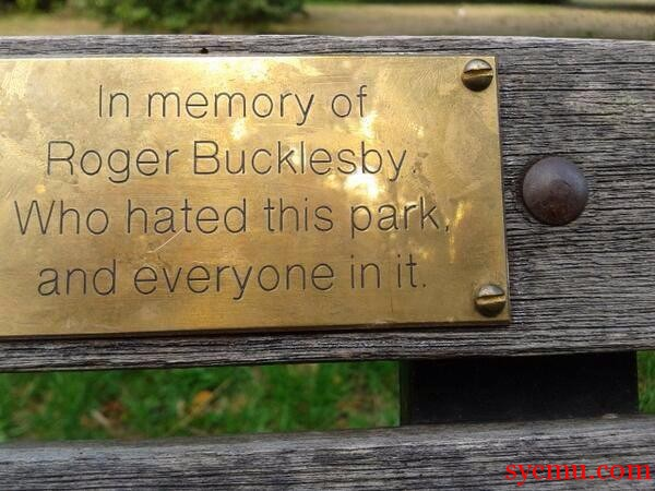 In memory of Roger Bucklesby