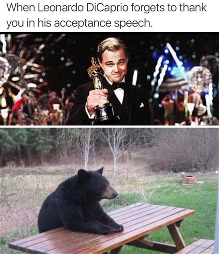 DiCaprio Oscar Speech Forgotten