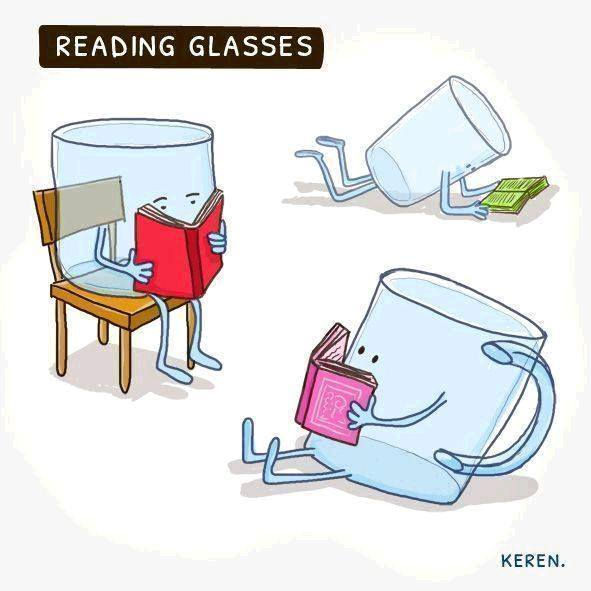 Reading Glasses Cartoon