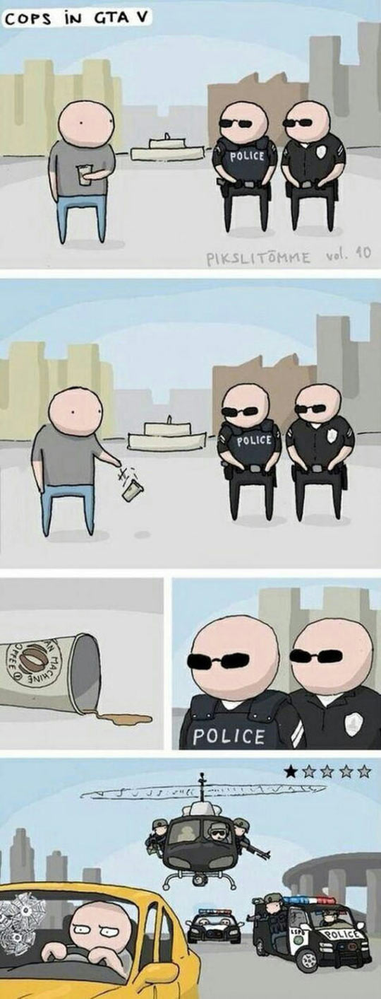 GTA Cops Cartoon
