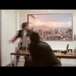 LG TV Prank Scares Job Applicants