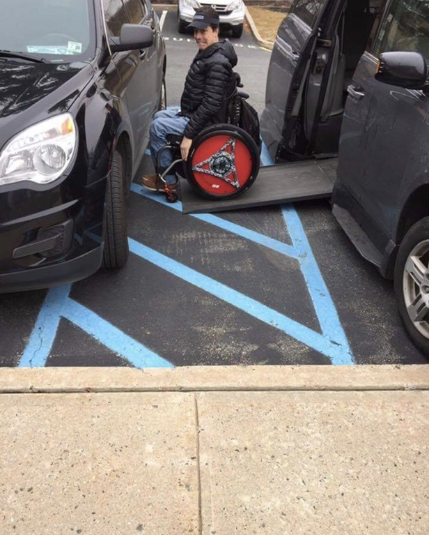 Parking in the Handicap Margins