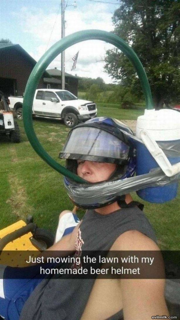 Beer Helmet design