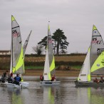 RS Feva single class training event organised by SYCSA