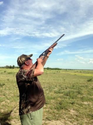 High volume dove hunt