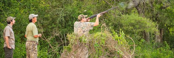 Dove hunting retreat