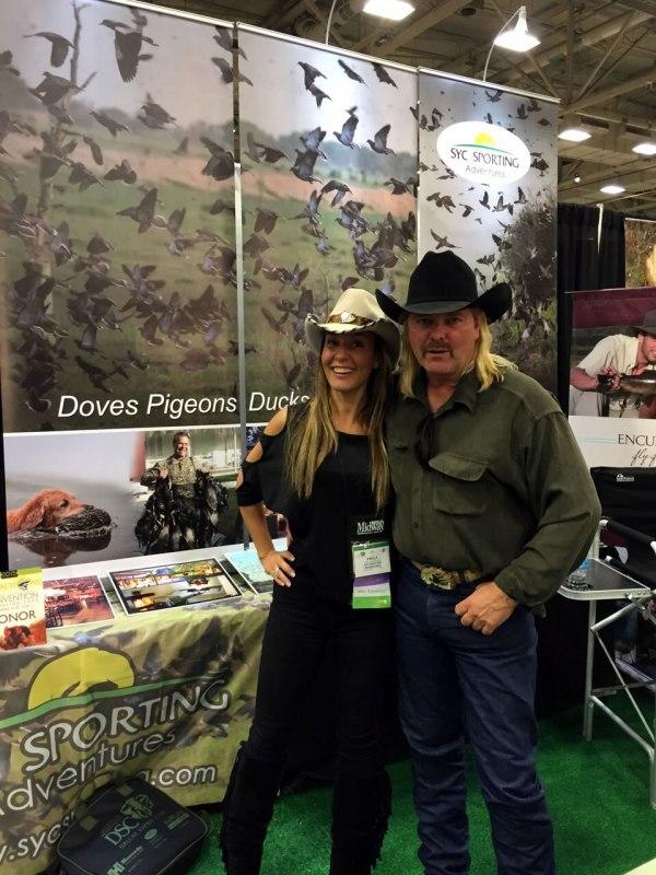Paula Martinez and Colorado Buck