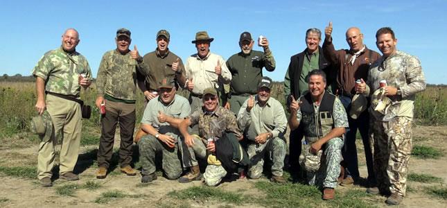 Texas hunters in Córdoba