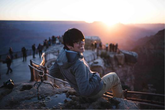 Various Lighting Visuals during the Sunrise at Mather's Point in Grand Canyon, Arizona_03
