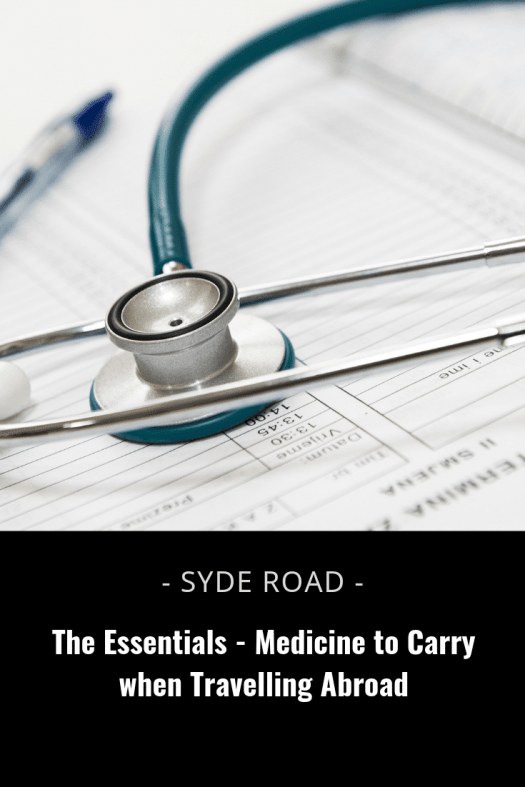 Here is a list of 10 essential over-the-counter medicine to carry when traveling abroad. Illnesses are bound to happen no matter where you are, or what you're doing. But with the additional changes that traveling introduces, your routine is thrown out whack, and sometimes your hygiene routines might relax (hello beach picnics without washing your hands because clean running water isn't nearby!). As such, its no wonder that it feels like illnesses happen a lot more frequently when you're away from home.
