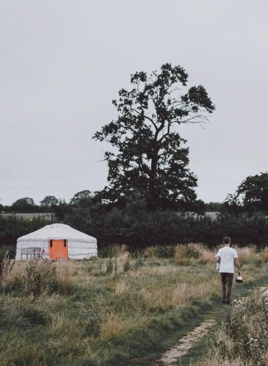 What is a yurt? Photo by Annie Spratt on Unsplash