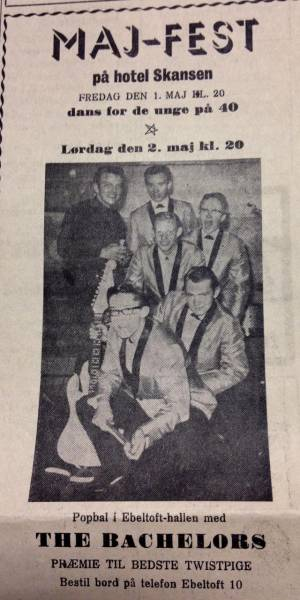 The Bachelors 1963-1964-Ebeltoft