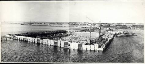 Sjællandsbroen Okt. 1957
