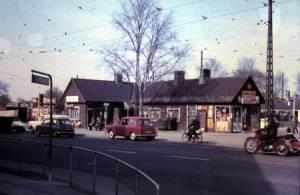 Sydhavns Plads foråret 1960.