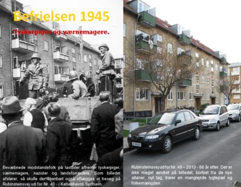 Sydhavnen/Rubinsteinsvej - 1945-2013.