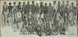 Bavnehøj Skole, lærerne i 1953