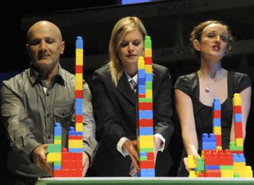 Arky Michael, Jane Phegan and Kym Vercoe. Pic Heidrun Lohr