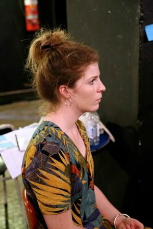 Meg McLellan who plays xxxx. Pic Julia Robertson