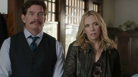 Toni Collette and Thomas Hayden Church in LUCKY THEM