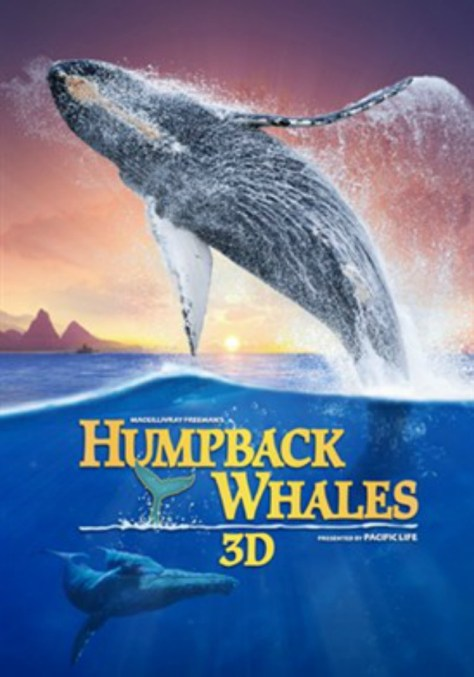 Poster for Humpback Whales 3D Imax