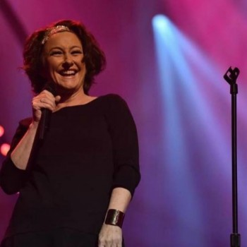 Fiona O'Loughlin was the MC for Frocking Hilarious