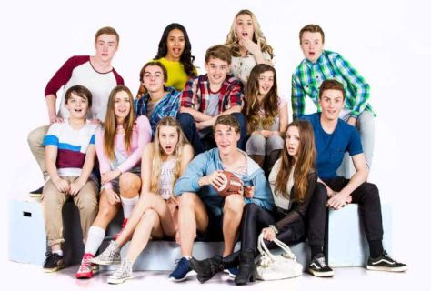 The cast of 13