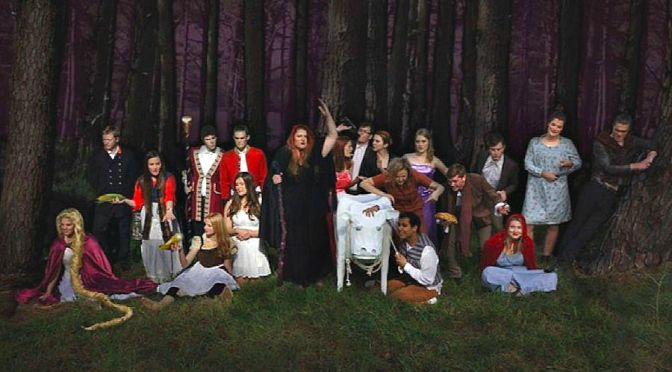 NUTS PRESENTS INTO THE WOODS @  LEND LEASE THEATRE DARLING HARBOUR