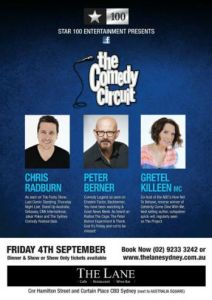 The Comedy Circuit- inset
