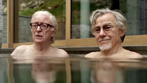 Two of the greats, Michael Caine and Harvey Keitel in Paolo Sorrentino's new film YOUTH