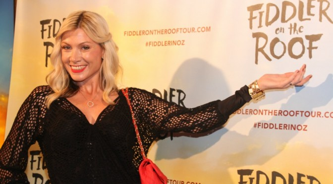 THE CELEBS @ FIDDLER ON THE ROOF OPENING @ THE CAPITOL THEATRE