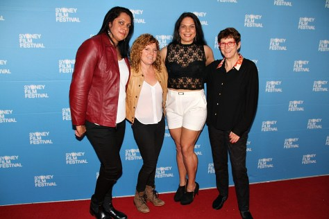 Natasha Lawrence, Sascha Ettinger Epstein (director), Kylene Anderson, Jenny Neighbour (producer).