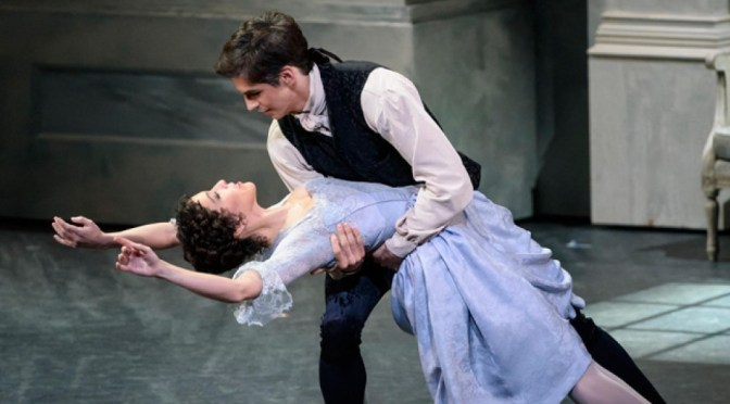 THE ROYAL BALLET'S PRODUCTION OF FRANKENSTEIN @ COVENT GARDEN LONDON