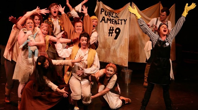 MOSMAN MUSICAL SOCIETY PRESENTS 'URINETOWN' @  ZENITH THEATRE, CHATSWOOD