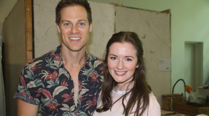 REHEARSALS BEGIN ON A NEW PRODUCTION OF MAMMA MIA