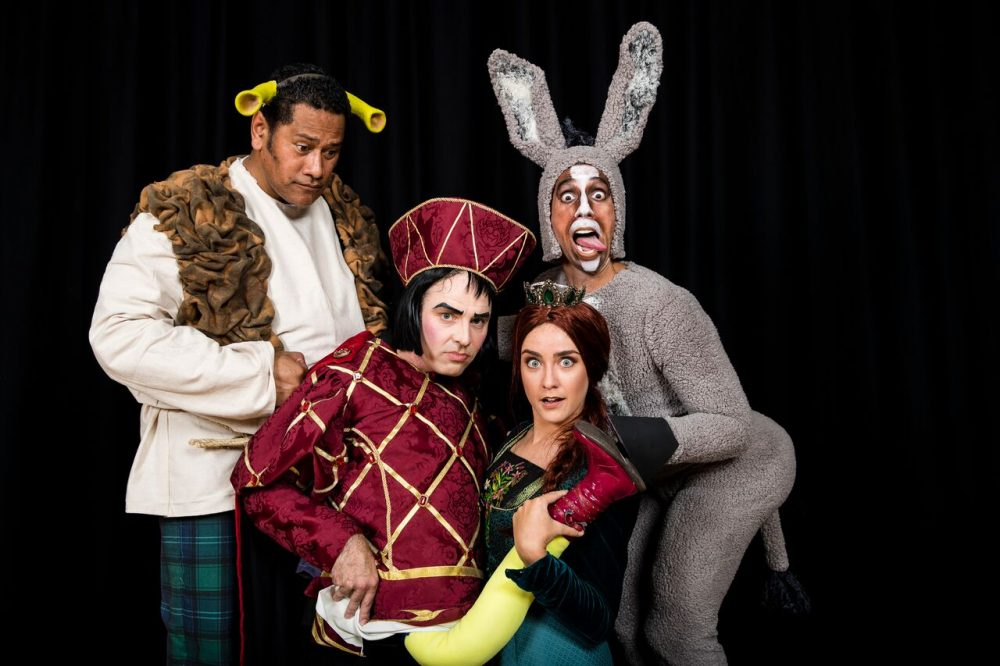 WHOA DONKEY!: SHREK'S COMING TO RIVERSIDE