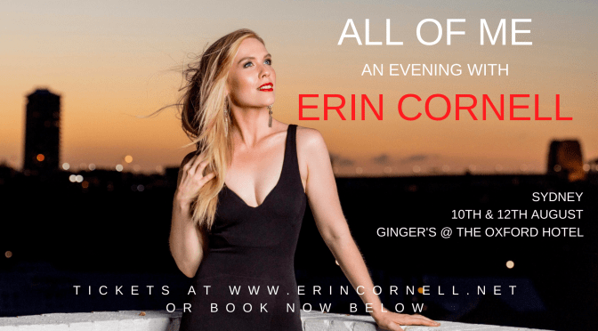 ALL OF ME: AN EVENING WITH ERIN CORNELL