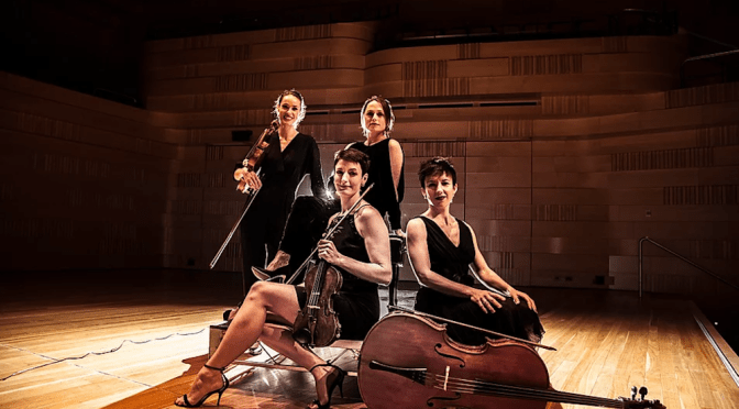 THE ENIGMA QUARTET : A COFFEE CULTURE CONCERT @ THE INDEPENDENT THEATRE