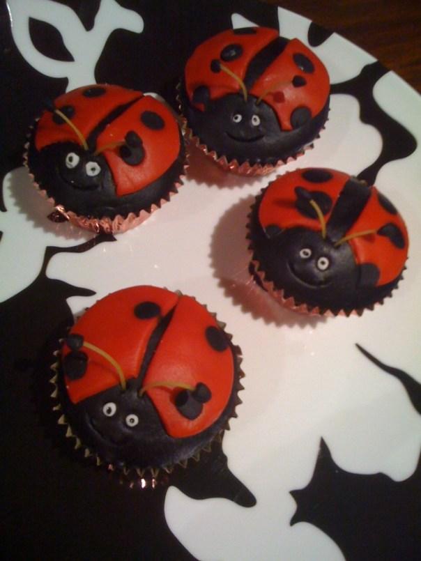 Lady Bug Cupcake