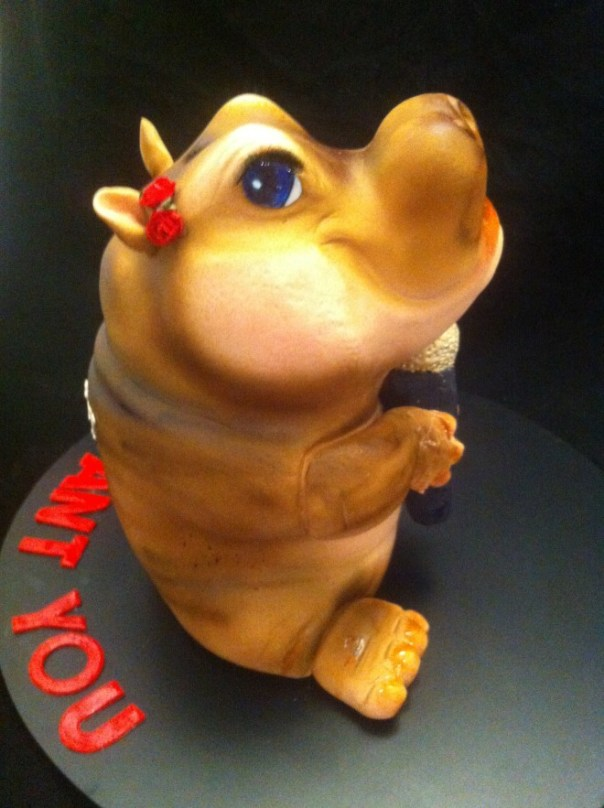 I want you Ricky - Hippo cake