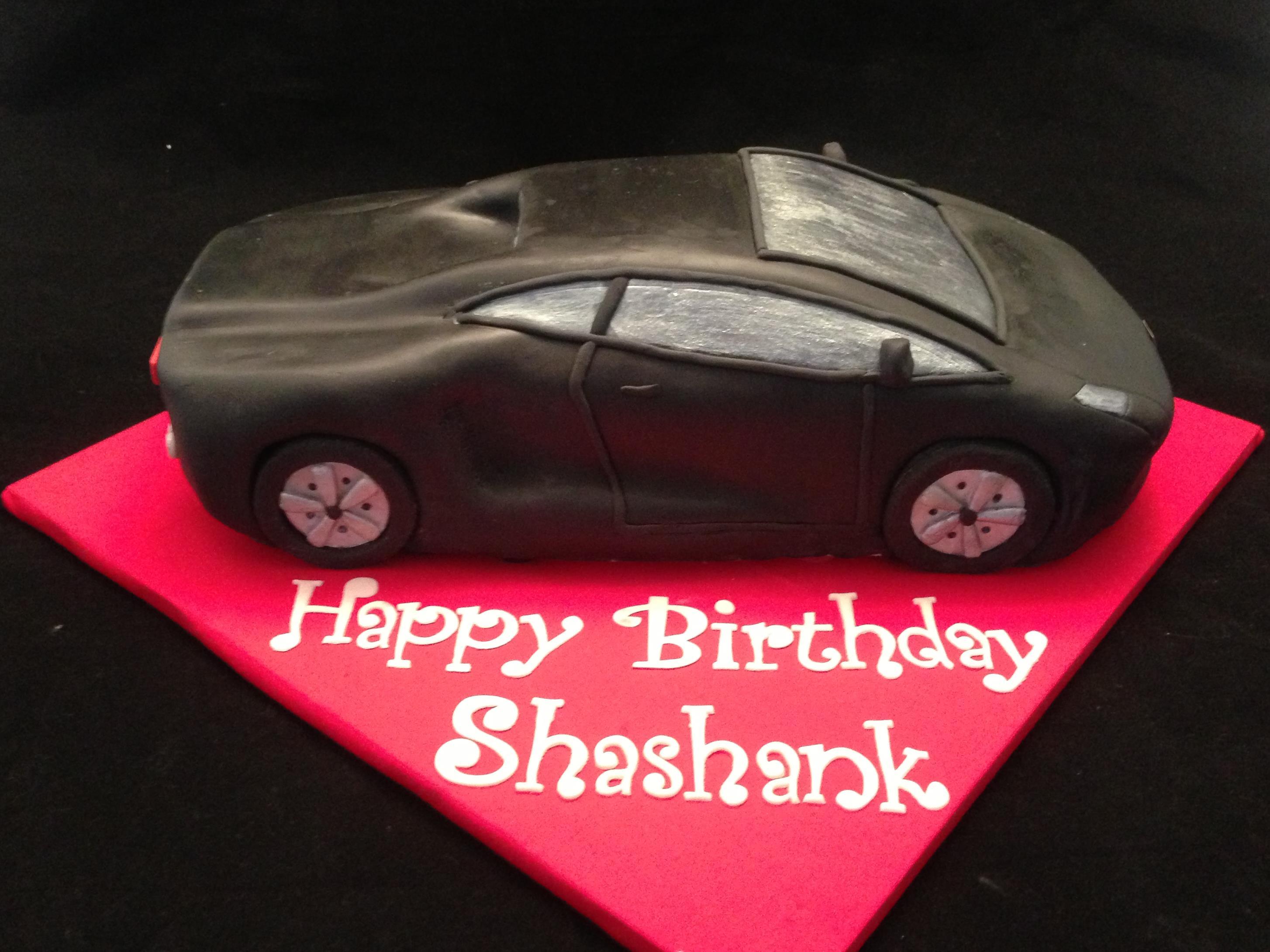 Lamborghini Cake Sydney Cake Art
