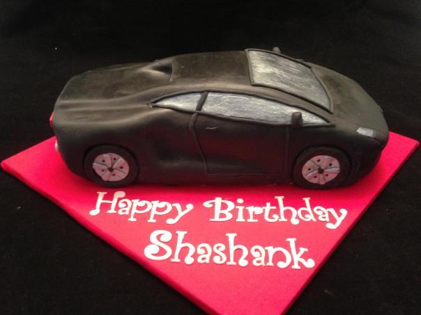 Lamborghini Cake