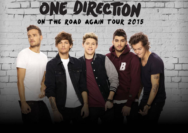 Contact us for 2-4-1 tickets for One Direction