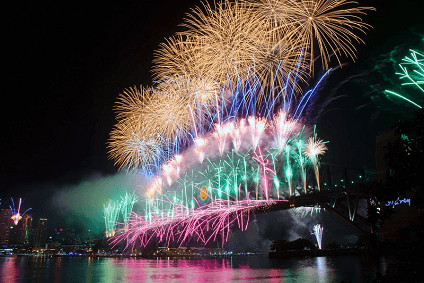 Sydney New Year's Eve 2015/16